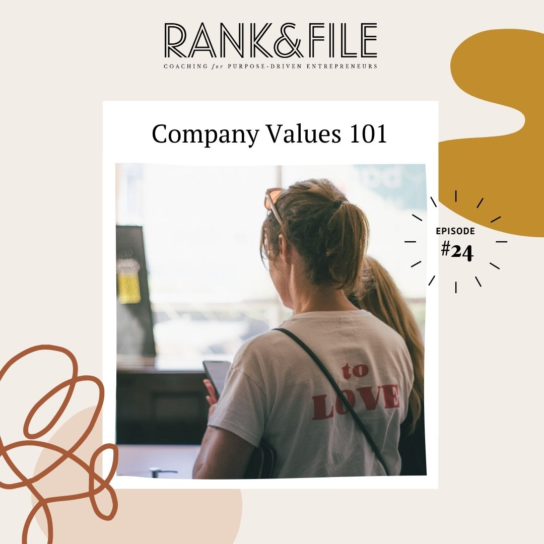 How to Create Your Company Values - Advice for Purpose-Driven Businesses