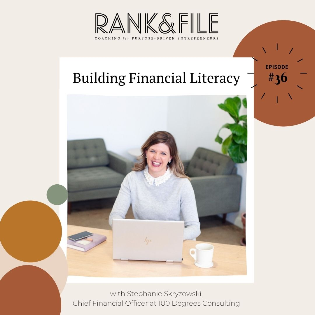 Building Founder Financial Literacy with Stephanie Skryzowski | Episode #36