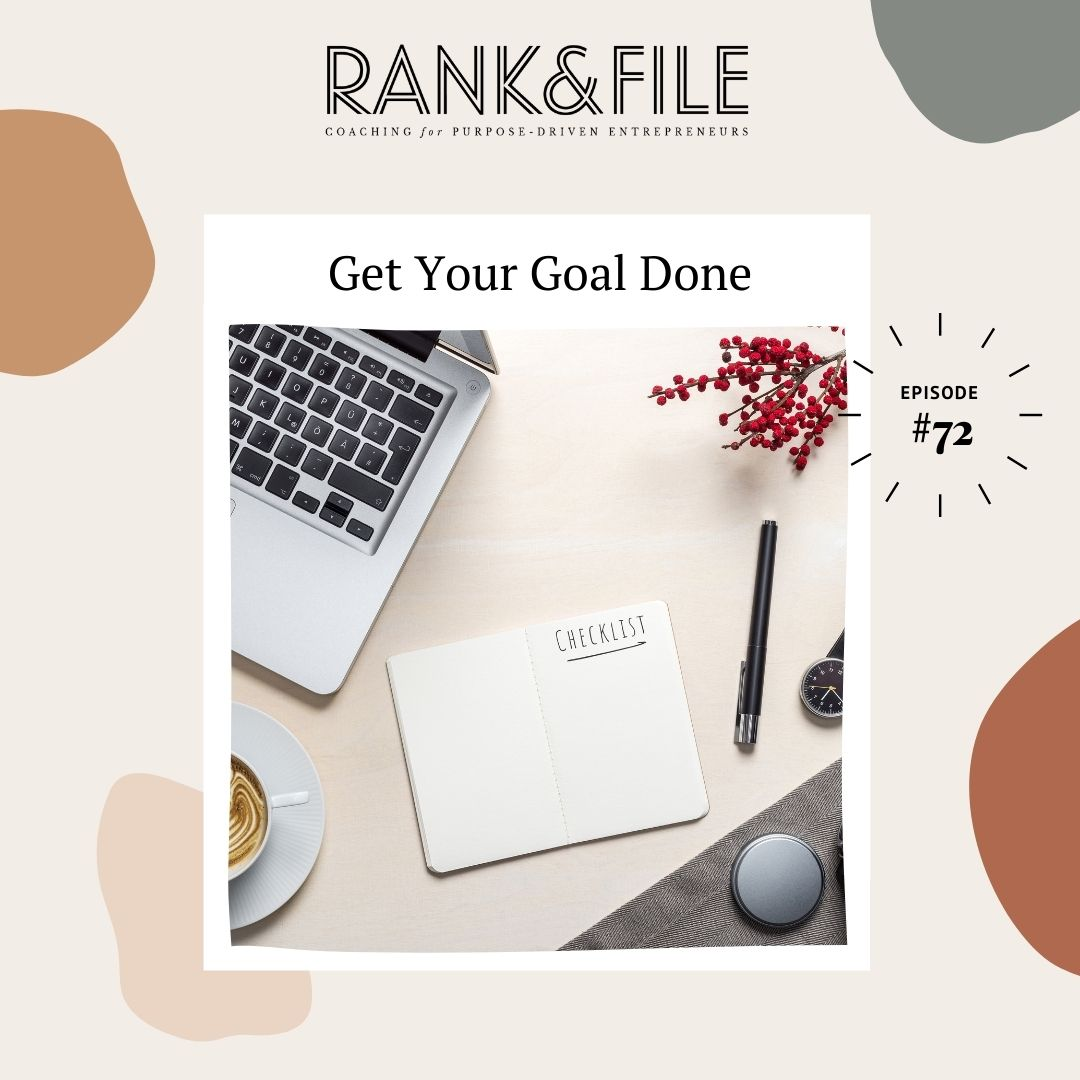 Finally Reach Your Goals This Year for Your Purpose-Driven Business - Get Your Impact and Income Goals Done