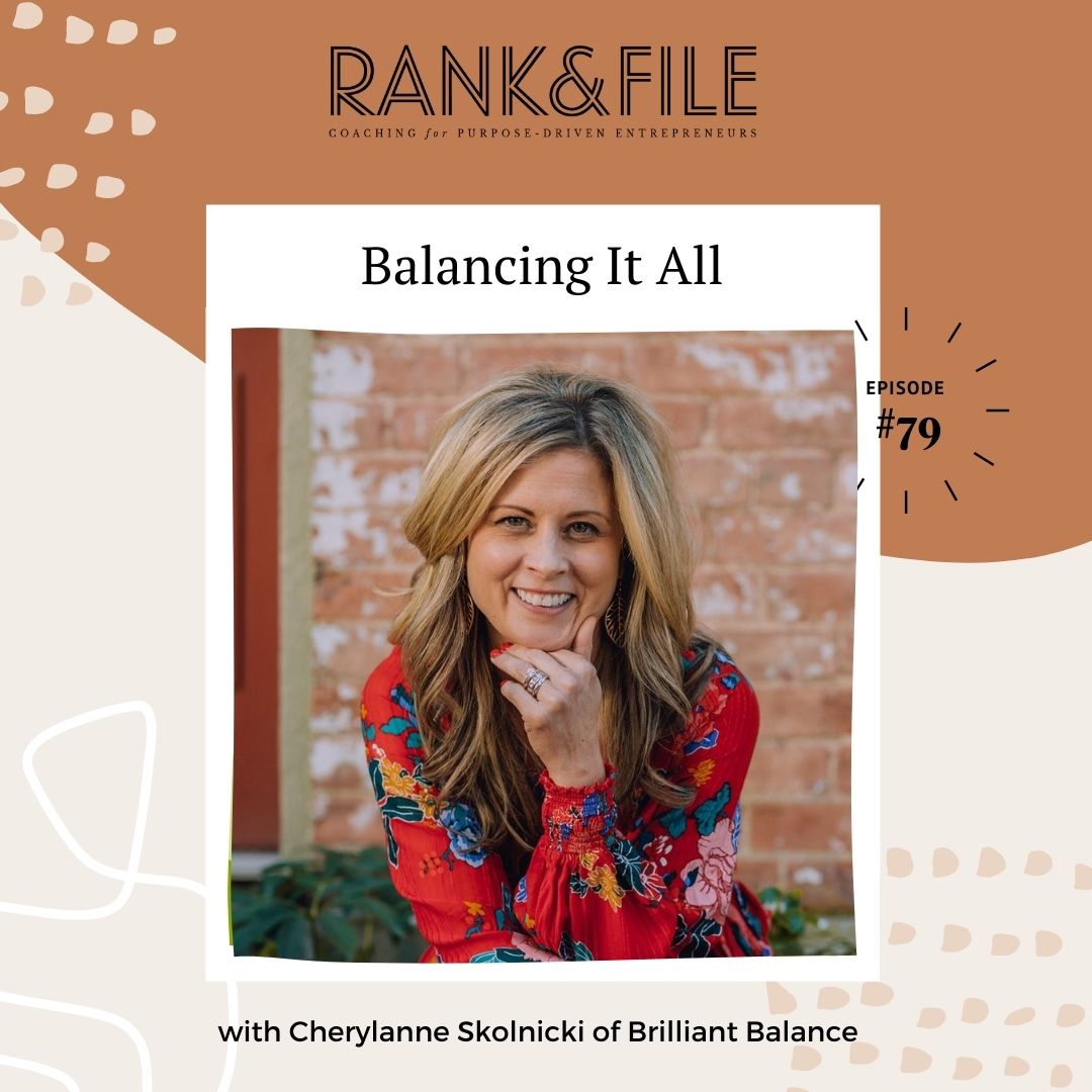 Work-Life Balance Tips for Female Purpose-Driven Entrepreneurs | Podcast for Purpose-Driven Entrepreneurs