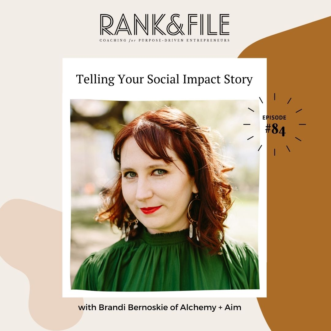 storytelling for purpose-driven entrepreneurs